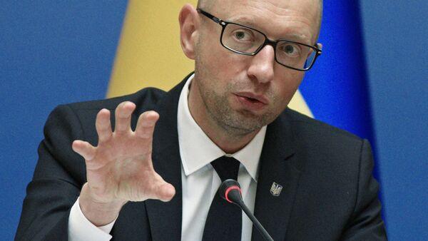 Премьер-министр Украины Арсений Яценюк - Sputnik Ўзбекистон