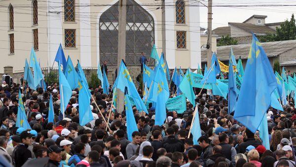 Мероприятия, посвященные 70-й годовщине депортации крымских татар - Sputnik Ўзбекистон