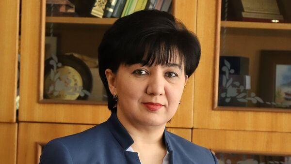 Gulchexra Rixsiyeva, rektor TashGIV - Sputnik Oʻzbekiston
