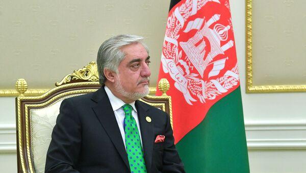 Премьер-министр Афганистана Абдулла Абдулла - Sputnik Ўзбекистон