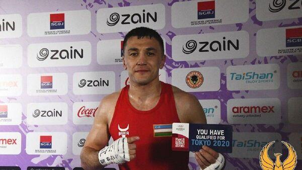 Узбекский боксёр Бобоусмон Батуров удостоился лицензии Токио-2020 - Sputnik Ўзбекистон