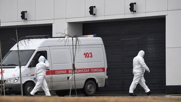 Bolnitsa v Kommunarke primet patsiyentov s podozreniyem na koronavirus - Sputnik Oʻzbekiston