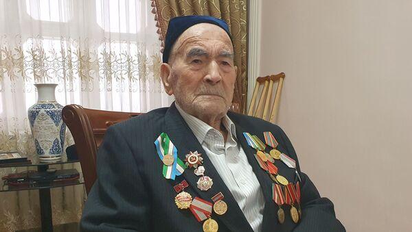 Ветеран Максуд Акилов  - Sputnik Ўзбекистон