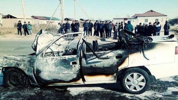 В Нукусе Nexia столкнулась с трактором - Sputnik Узбекистан
