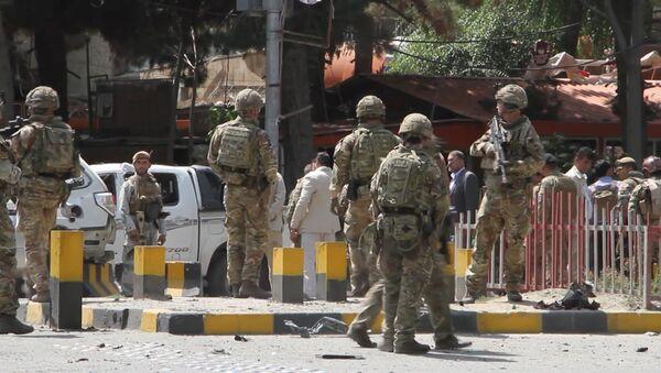 США выводят войска из Афганистана, уступая террористам - Sputnik Ўзбекистон