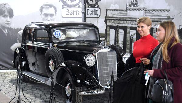 Открытие выставки ретро-автомобилей Олдтаймер-Галерея - Sputnik Узбекистан