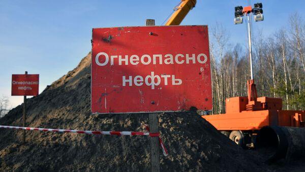 Nefteprovod Drujba v Gomelskoy oblasti - Sputnik Oʻzbekiston