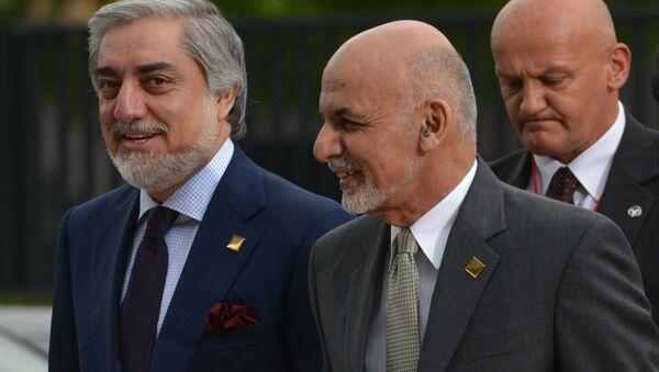 Ashraf Gani i  Abdulla Abdulla - Sputnik Oʻzbekiston