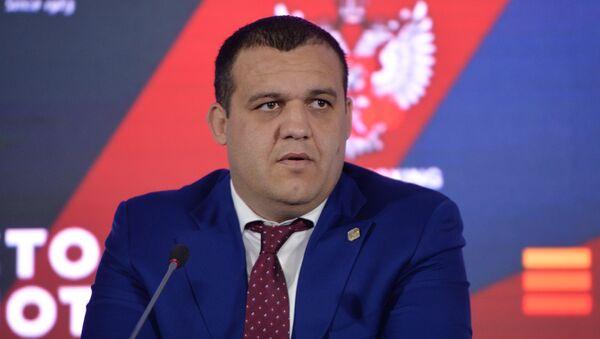 П/к с участниками второго Международного боксерского форума - Sputnik Узбекистан