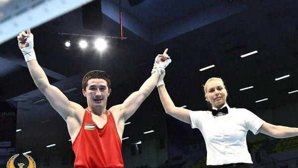 Элнур Абдураимов провел финальный бой - Sputnik Узбекистан