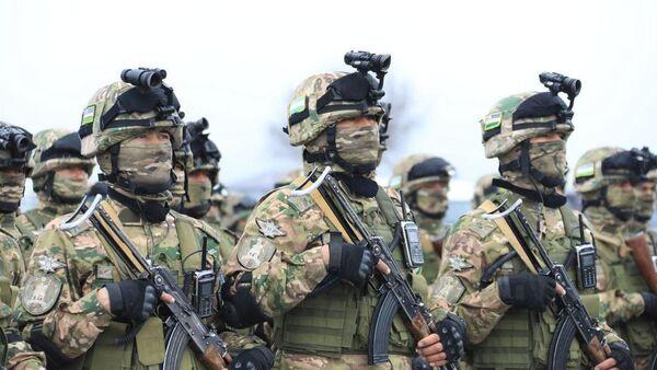 Подразделения спецназа Вооруженных сил Таджикистана и Узбекистана  проведут учения на полигоне Фахрабад  - Sputnik Ўзбекистон