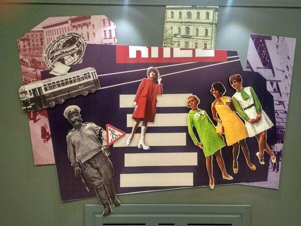 Коллаж из стилей разных эпох. Выставка в Ташкенте - Sputnik Узбекистан