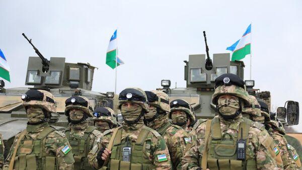 Узбекско-таджикские военные учения 2020 - Sputnik Ўзбекистон