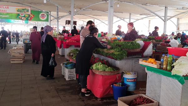 Рынок Эски жува в Ташкенте - Sputnik Ўзбекистон