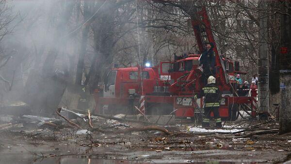 Взрыв бытового газа в многоэтажном доме в Волгограде - Sputnik Узбекистан