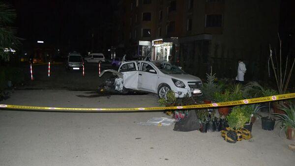 В Бухаре взорвался автомобиль - фото - Sputnik Узбекистан