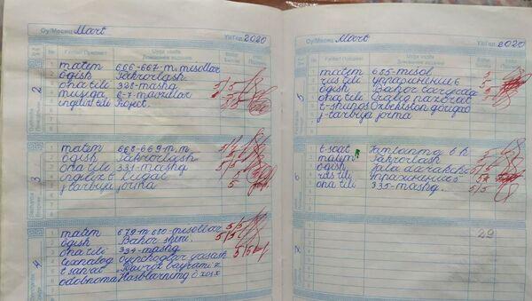 Школьный дневник - Sputnik Узбекистан