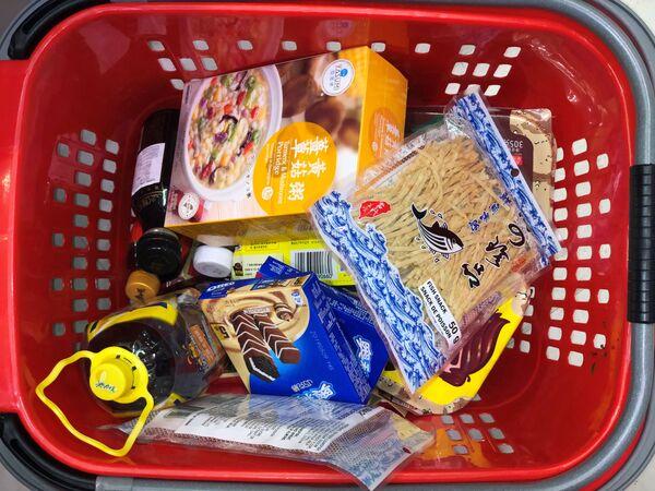 Kanada, supermarket, mahsulotlar, 14.03.2020. - Sputnik Oʻzbekiston