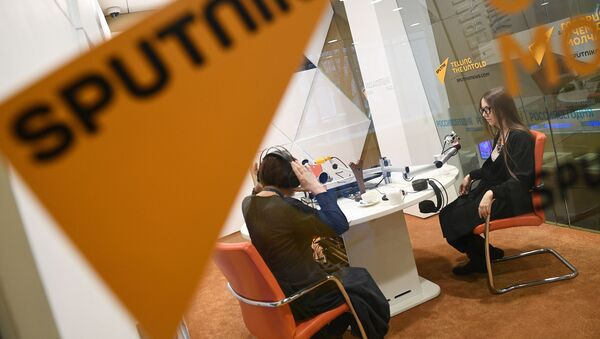 Студия радио Sputnik - Sputnik Узбекистан