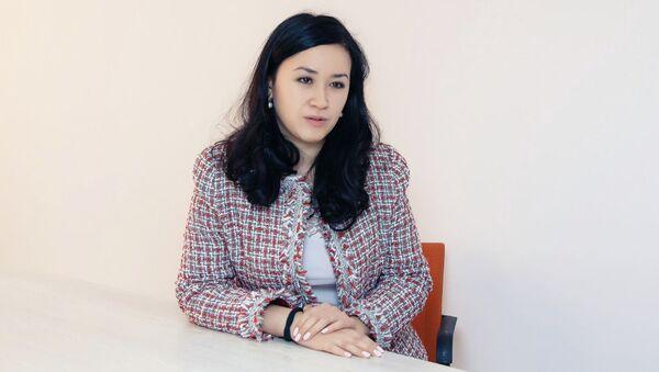 Cпециалист по связям с общественностью ЮНФПА в Казахстане Дина Тельтаева - Sputnik Узбекистан