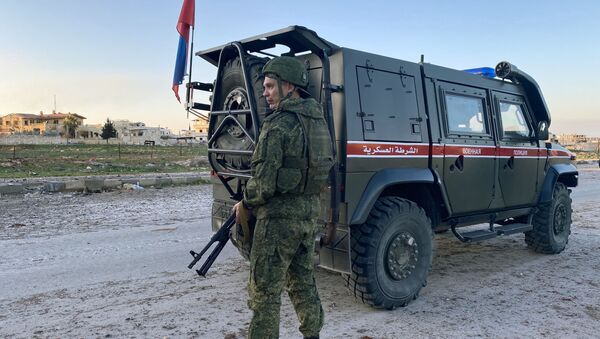 Российская военная полиция в сирийской провинции Идлиб - Sputnik Узбекистан