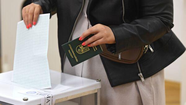 Второй тур президентских выборов в Абхазии - Sputnik Узбекистан