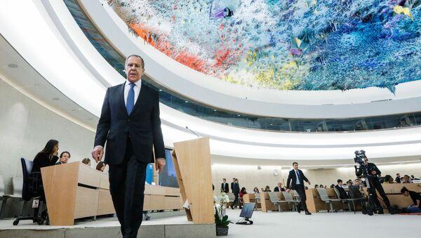 Визит главы МИД РФ С. Лаврова в Щвейцарию  - Sputnik Узбекистан