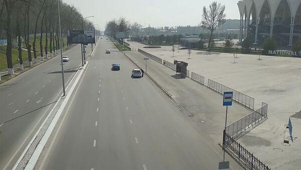 Ташкент без людей и авто: как выглядит узбекская столица в карантин - Sputnik Узбекистан