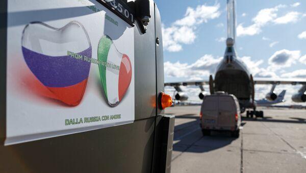Россия окажет помощь Италии в борьбе с COVID-19 - Sputnik Ўзбекистон
