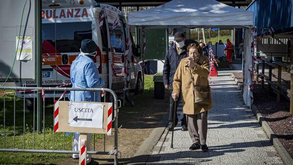 Ситуация в Италии в связи с коронавирусом - Sputnik Ўзбекистон