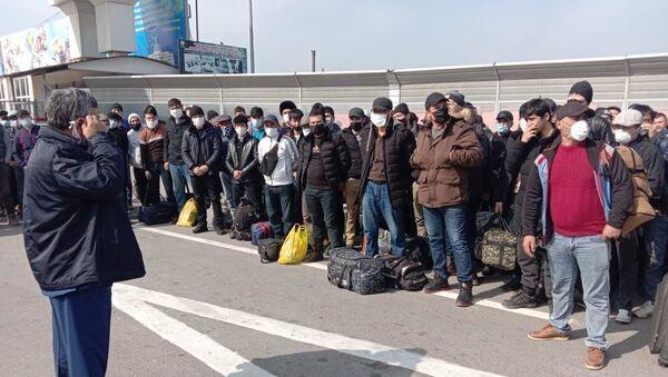 Ситуация на казахско-узбекской границе - Sputnik Ўзбекистон