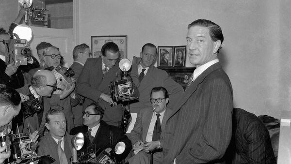 Лидер Кембриджской пятёрки Ким Филби. 1955 год  - Sputnik Ўзбекистон