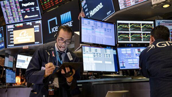 Торги на фондовой бирже в Нью-Йорке - Sputnik Узбекистан