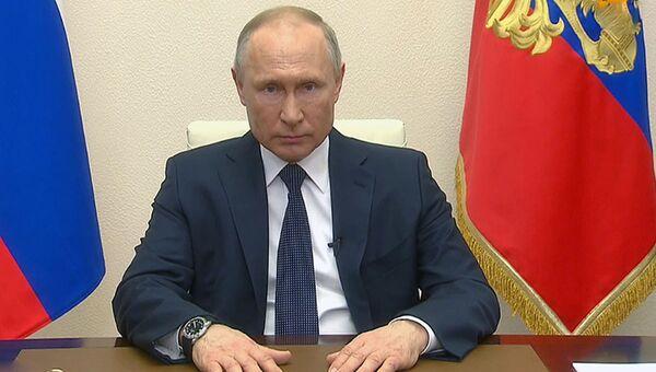LIVE: Владимир Путин выступает с обращением к нации - Sputnik Ўзбекистон