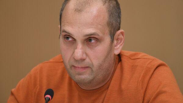 Сопредседатель совета МИПОД Бессмертный полк Сергей Лапенков - Sputnik Узбекистан