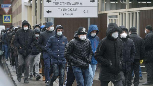 Мигранты в Москве - Sputnik Ўзбекистон