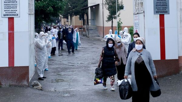 В Намангане 11 человек вылечились от коронавируса - Sputnik Ўзбекистон