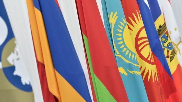 Флаги стран-участниц ЕАЭС - Sputnik Ўзбекистон