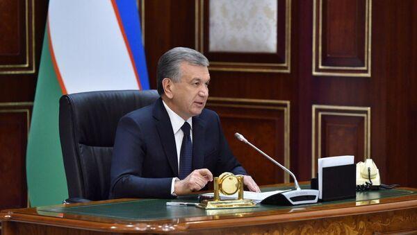 Шавкат Мирзиёев выступил с речью - Sputnik Ўзбекистон