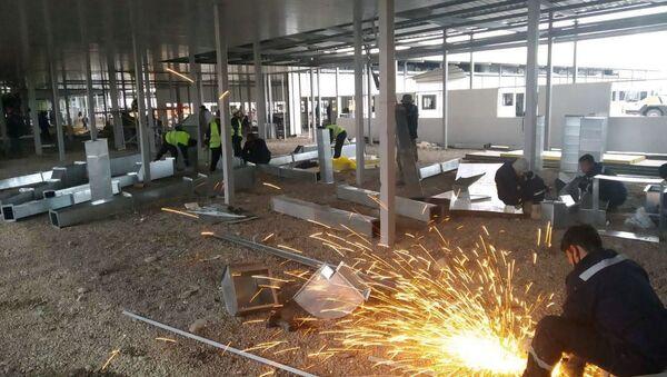 Строительство вирусологической больницы в Ташкентской области - Sputnik Узбекистан
