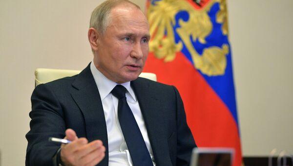 Президент РФ В. Путин провел совещание с членами правительства РФ - Sputnik Узбекистан
