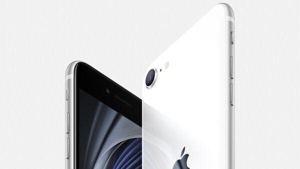 Кнопка Домой и знакомый дизайн: Apple представила новый iPhone SE - Sputnik Узбекистан