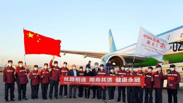 В Узбекистан из Китая прибыла группа медицинских экспертов - Sputnik Ўзбекистон