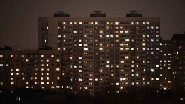 Многоквартирные дома в Москве - Sputnik Ўзбекистон