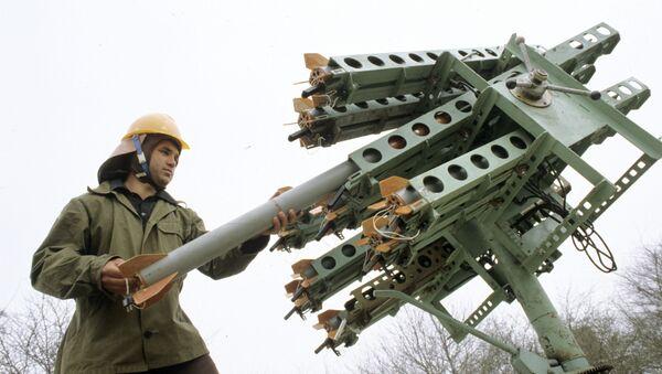 Ракетный комплекс Алазань, архивное фото - Sputnik Ўзбекистон
