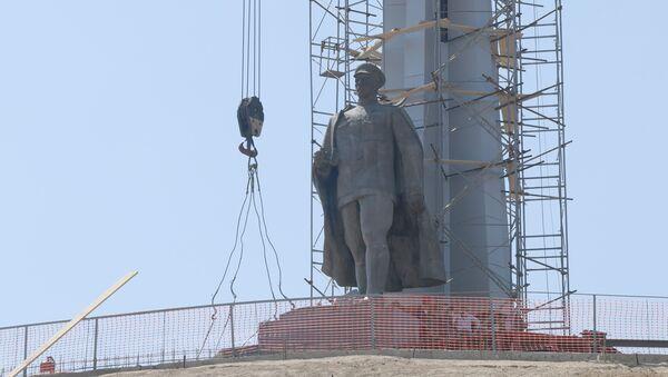 Как создается уникальный Парк Победы в центре Ташкента  - Sputnik Узбекистан