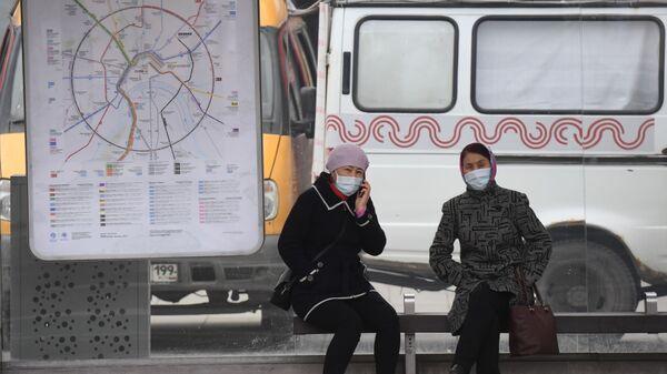 Москва во время режима самоизоляции жителей - Sputnik Узбекистан