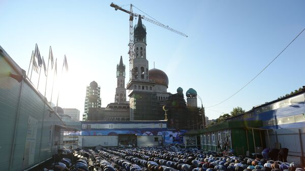 Реконструкция Московской соборной мечети - Sputnik Узбекистан
