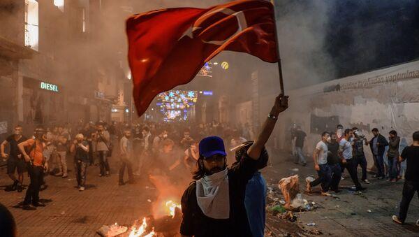 Protestы v Turtsii - Sputnik Oʻzbekiston