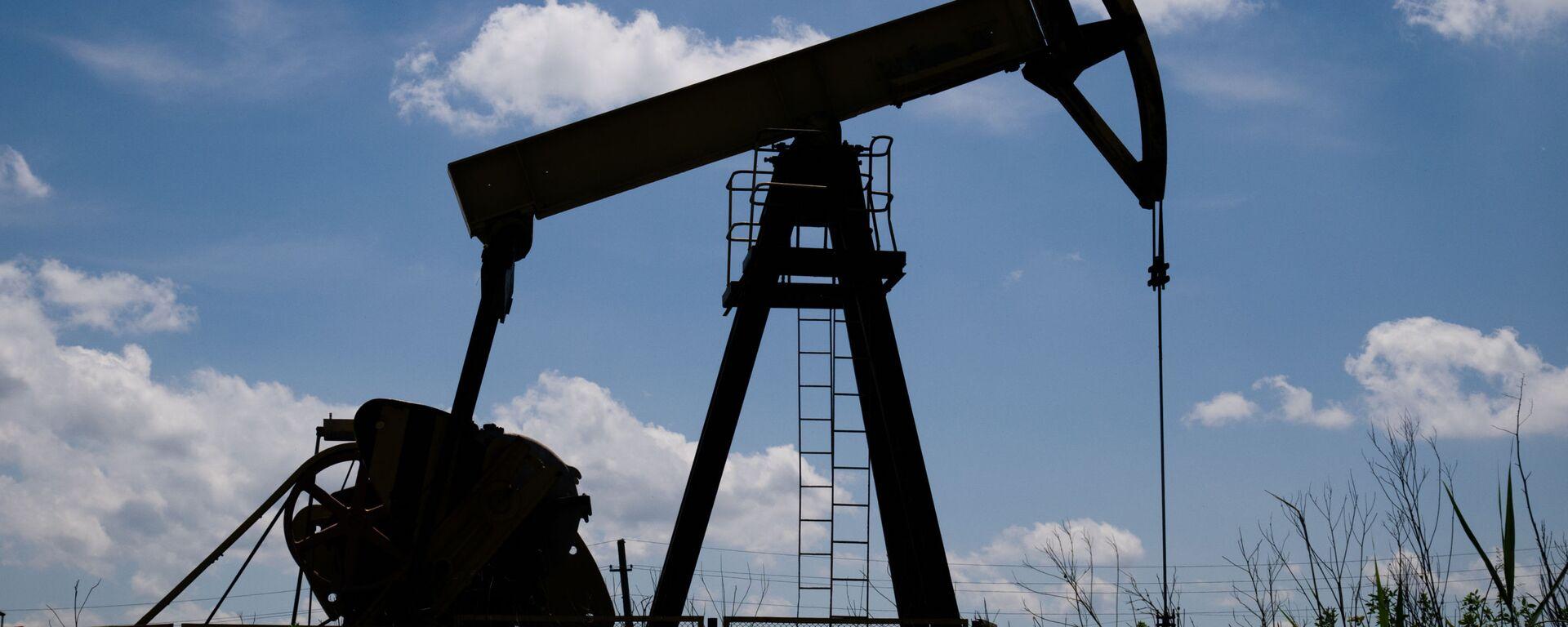 Нефтяной станок-качалка - Sputnik Ўзбекистон, 1920, 29.07.2020